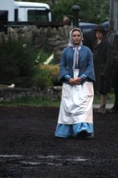 "Florence Pugh - ""The Wonder"" Set in Wicklow, Ireland 08/15/2021"