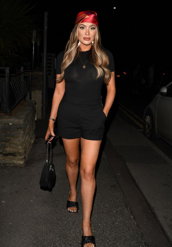 """Frankie Sims - """"The Only Way is Essex"""" TV Show Press Night in Bournemouth 08/28/2021"""