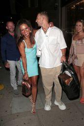 Gabby Allen and Brandon Myers at Sumosan Twiga 08/13/2021