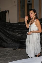 Gal Gadot Night Out in Rotchild Street - Cantina Restaurant in Tel Aviv 08/22/2021