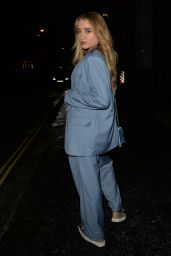 Georgia Harrison and Bella Kempley at MNKY House in Mayfair, London 08/19/2021
