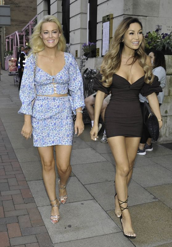 Georgia Townend and AJ Bunker – ISAWITFIRST Love Island Party in Manchester 08/21/2021