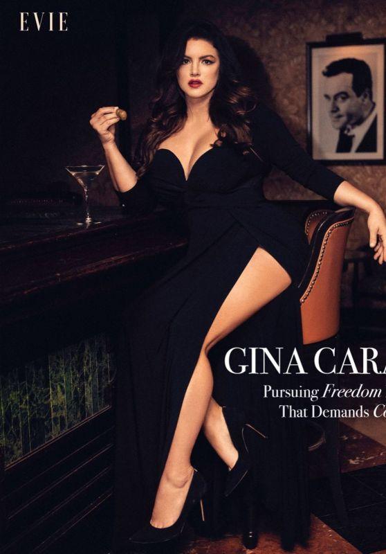 Gina Carano - Evie Magazine August 2021