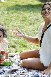 "Gina Rodriguez and Liza Koshy - ""Players"" Movie Set in Brooklyn 08/02/2021"