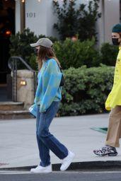 Hailey Rhode Bieber and Justin Bieber at Lucky