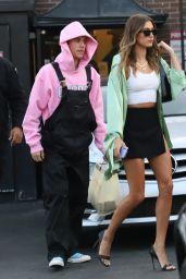 Hailey Rhode Bieber and Justin Bieber - IL Pastaio Restaurant in Beverly Hills 08/20/2021