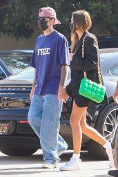 Hailey Rhode Bieber and Justin Bieber - Out in Malibu 08/06/2021