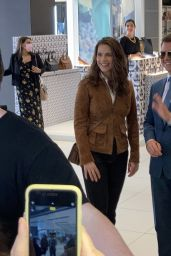 """Hayley Atwell and Tom Cruise -  """"Mission Impossible 7"""" Fiming Set in Brimingham 08/22/2021"""