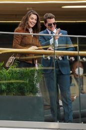 """Hayley Atwell and Tom Cruise - """"Mission Impossible 7"""" Set in Birmingham 08/24/2021"""