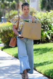 Hilary Duff - Out in Los Angeles 08/03/2021