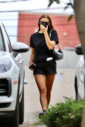 Irina Shayk Booty in Shorts - West Hollywood 08/22/2021