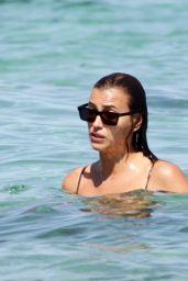 Irina Shayk in a Bikini - Beach in Ibiza 08/06/2021