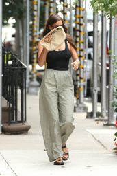 Irina Shayk - Out in West Village in New York 08/10/2021