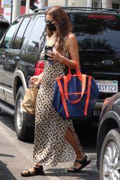 Irina Shayk Summer Street Style - Santa Monica 08/16/2021