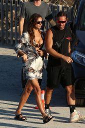 Irina Shayk With Riccardo Tisci - El Chinringuito Reastaurant in Ibiza 08/06/2021