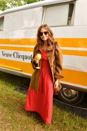 Jenna Coleman at Veuve Clicquot Champagne Garden- Wilderness Festival 2021 in Oxford