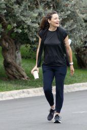 Jennifer Garner - Take a Morning Walk in Brentwood 08/20/2021