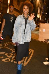 Jennifer Hudson at Her Hotel in New York 08/14/2021