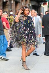 """Jennifer Hudson - """"The Late Show with Stephen Colbert"""" in NYC 08/12/2021"""