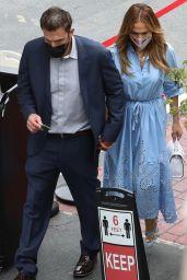 Jennifer Lopez and Ben Affleck at The Magic Castle in LA 08/21/2021