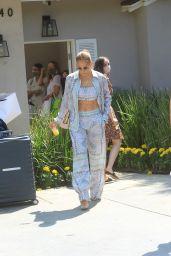 Jennifer Lopez – Leaves Jennifer Klien's Day of Indulgence in Brentwood 08/15/2021