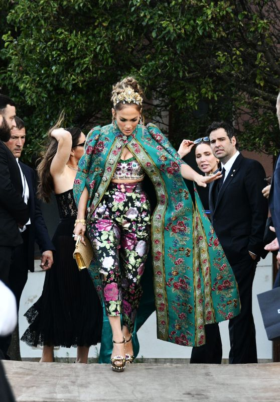 Jennifer Lopez - Parade in Piazza San Marco 08/29/2021