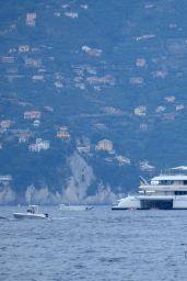 Jennifer Lopez - Strolling in Portofino 07/31/2021
