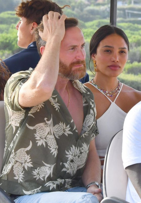 Jessica Ledon at Verde Beach in Saint-Tropez 08/15/2021