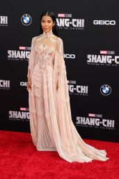 """Jhene Aiko - """"Shang-Chi and the Legend of the Ten Rings"""" World Premiere in Los Angeles"""