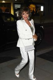 Joan Collins at the Delaney in London 08/19/2021