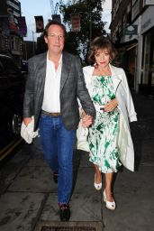 Joan Collins at the Ivy Chelsea Gardens 08/07/2021