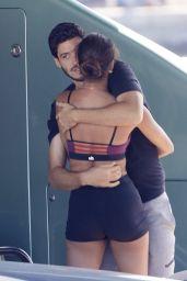 Joan Smalls and Her Boyfriend Henry Junior Chalhoub - Saint-Tropez 08/09/2021