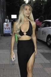 Joanna Chimonides – ISAWITFIRST Love Island Party in Manchester 08/21/2021