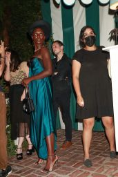 Jodie Turner Smith at James Bond Viewing Party in West Hollywood 08/23/2021