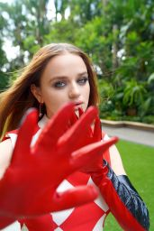 """Joey King - """"The Kissing Booth 3"""" Press Shoot 08/10/2021"""