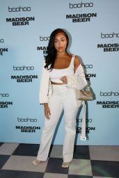 Jordyn Woods – boohoo x Madison Beer Launch Event in LA 08/02/2021