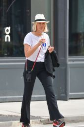 Karolina Kurkova Street Style - New York 08/13/2021