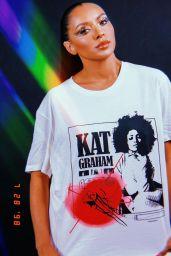 Kat Graham - Live Stream Video and Photos 08/01/2021