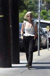 Kate Mara Shows Off Her Platinum Blonde Hair - Los Angeles 07/29/2021
