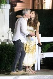 Katharine McPhee and David Foster - San Vicente Bungalows in West Hollywood 08/03/2021