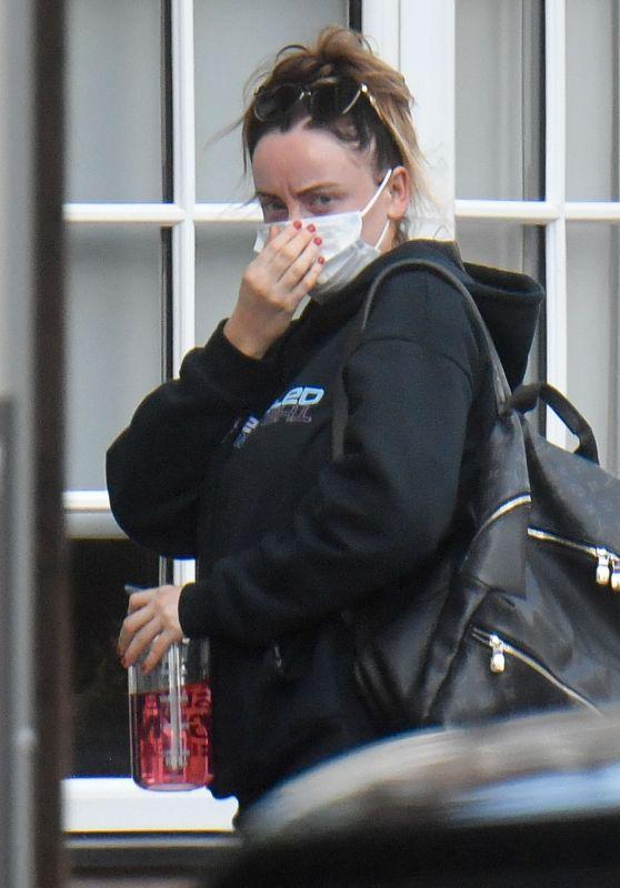 Katie McGlynn - Out in Alderley Edge 08/10/2021