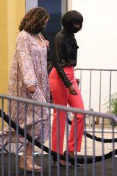 Kelly Rowland With Short Bob Cut - Westwood 08/08/2021