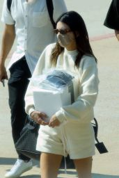 Kendall Jenner - Arriving in Sardinia 08/19/2021