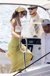 Kendall Jenner with Devin Booker in Nerano 08/23/2021