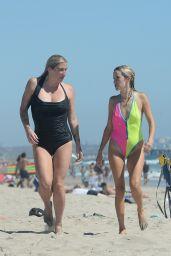 Kesha in a Swimsuit - Beach in Los Angeles 08/02/2021