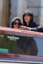 Kourtney Kardashian and Travis Barker - Dolce & Gabbana Event in Venice 08/29/2021