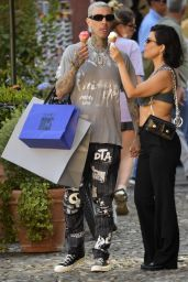 Kourtney Kardashian and Travis Barker - Portofino 08/27/2021