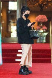 Kourtney Kardashian at the Beverly Hills Hotel 08/09/2021