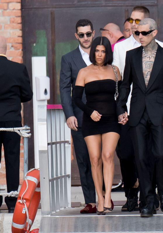 Kourtney Kardashian - D&G Event in Venice 08/30/2021