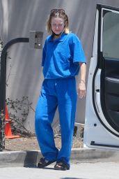Kristen Bell in a Blue Sweats - Los Feliz 07/30/2021